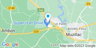 Plan Carte Allain menuiserie à Muzillac
