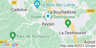 Plan Carte Les Menuiseries Modernes à Peypin