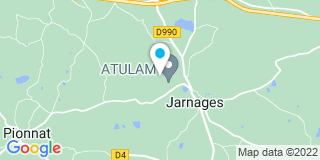 Plan Carte Atulam à Jarnages