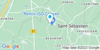 Plan Carte Renov Iso Conseil à Saint-Sebastien