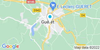 Plan Carte Jamex à Gueret