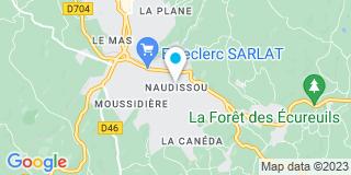 Plan Carte Mercier Vaunac à Sarlat