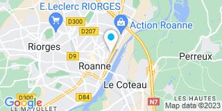 Plan Carte J'isole Store Déco à Roanne