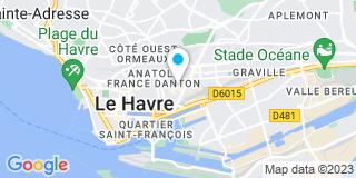 Plan Carte Miroiterie Launay au Havre