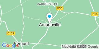 Plan Carte Fortier A à Amponville