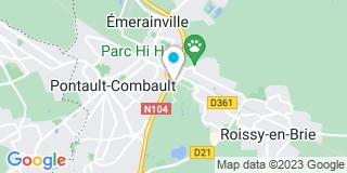 Plan Carte Fercar à Pontault-Combault