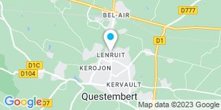 Plan Carte Fenêtre de Questembert à Questembert