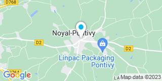 Plan Carte Baies aluminium à Noyal-Pontivy