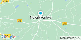 Plan Carte La Menuis' à Noyal-Pontivy
