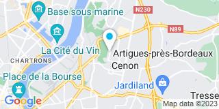 Plan Carte Ag Menuiserie à Cenon