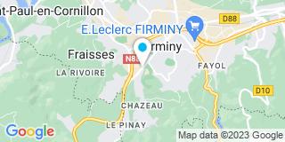 Plan Carte VMV à Firminy