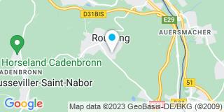 Plan Carte Schreiber et compagnie à Rouhling