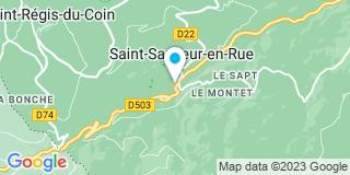 Plan Carte Garel Jean Marc  à Saint-Sauveur-en-Rue