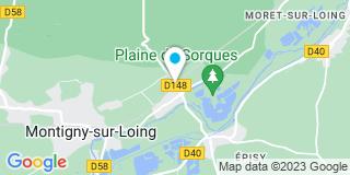 Plan Carte Lopes Menuiseries à Montigny-sur-Loing