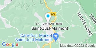Plan Carte Depeyre à Saint-Just-Malmont