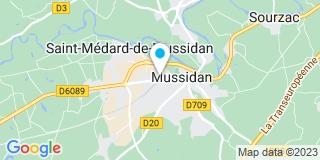 Plan Carte Difab 24 à Saint-Médard-du-Mussidan