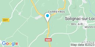 Plan Carte Gauthier à Solignac-sur-Loire