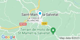 Plan Carte Lhéritier et Fils à Saint-Mamet-la-Salvetat