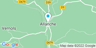 Plan Carte Veyrond à Allanche