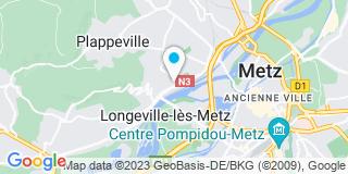 Plan Carte Miroiterie Mo Sellane à Le Ban-Saint-Martin