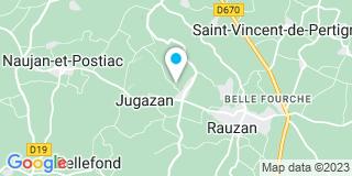Plan Carte Barse Menuiserie à Jugazan