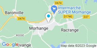 Plan Carte Construction eco Lorraine à Morhange