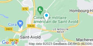 Plan Carte Flon à Saint Avold