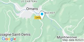 Plan Carte Martinenghi à Ornans