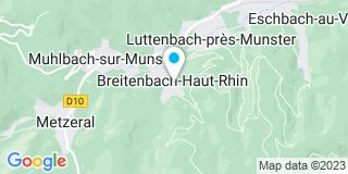Plan Carte Fritsch Willy à Breitenbach