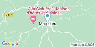 Plan Carte Marcenac Et Fils à Marcolès