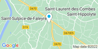 Plan Carte Gasteuil Francis Et Fils Ets à Saint-Emilion