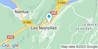 Plan Carte Desa Serrurerie Metallerie à Les Neyrolles