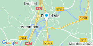 Plan Carte Morel Services au Pont D'Ain