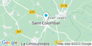 Plan Carte Launay Frères à Saint-Colomban