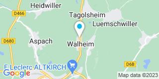 Plan Carte Mislin Pierre à Walheim