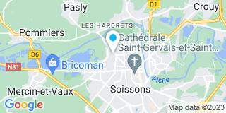 Plan Carte AM-CO-RE à Soissons