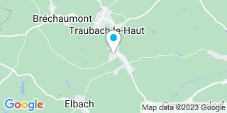 Plan Carte JS Menuiserie à Traubach-le-Bas