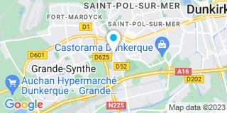 Plan Carte L'entreprise Kiecken à Dunkerque