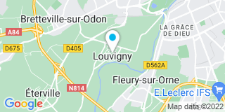 Plan Carte Caen Froid à Louvigny