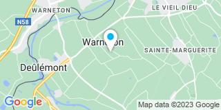 Plan Carte Veroone à Warneton