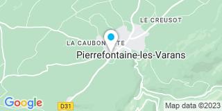 Plan Carte Jeancler Gérard à Pierrefontaine-les- Varans