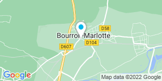 Plan Carte Pierres et Poutres à Bourron-Marlotte
