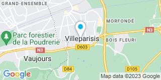 Plan Carte Ysobat à Villeparisis
