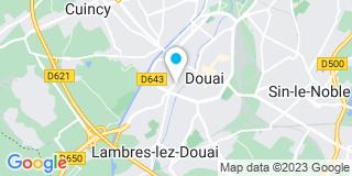 Plan Carte G M Morel à Douai