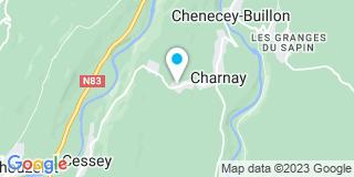 Plan Carte Bidal Toiture à Charnay