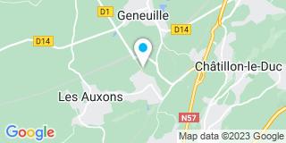Plan Carte Ideabois à Auxon-Dessus