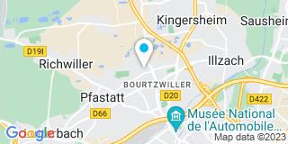 Plan Carte Gross Charpentes à Mulhouse