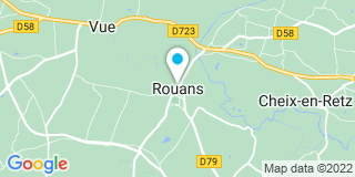 Plan Carte Camus Philippe à Rouans