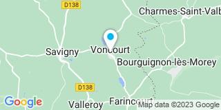 Plan Carte Pracht Menuiseries à Levoncourt