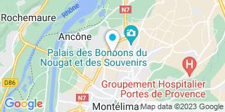 Plan Carte Toitures Montiliennes à Montelimar